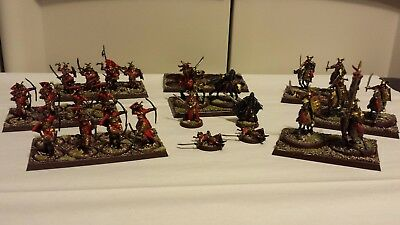 games workshop lord of the rings painted easterling army lot