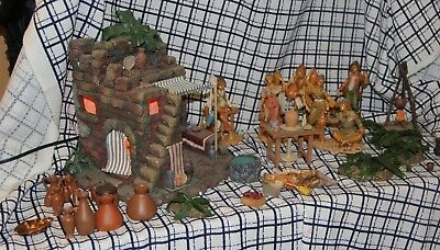 Fontanini Pottery Shop 1996 # 50256  (35) extra pieces w/ MARA Members Only