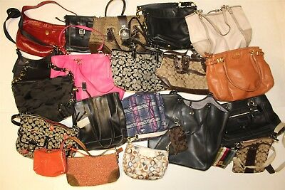 Coach Collection Wholesale Purse Lot USED Bulk Rehab Resale cuhP