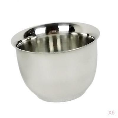 6 Stainless Steel Espresso Cups Double Wall Vacuum Insulated Mini Coffee Cup