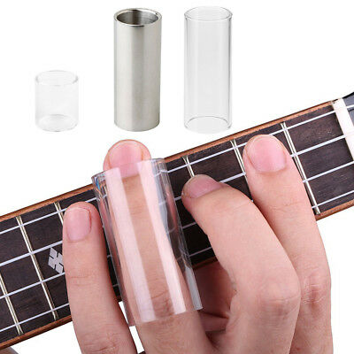 Glass Guitar Bass Tone Bar Stainless Steel Slide Tone Bar for Guitar Parts