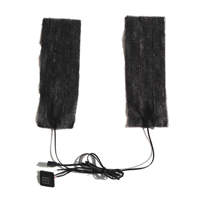 Excellent Black Cloth Vest Jacket Warming Heater Pads Fit For Outdoor Activities