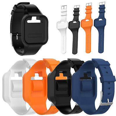 Silicone Wristband Watch Band Strap For Golf Buddy Voice/Voice 2 GPS Rangefinder