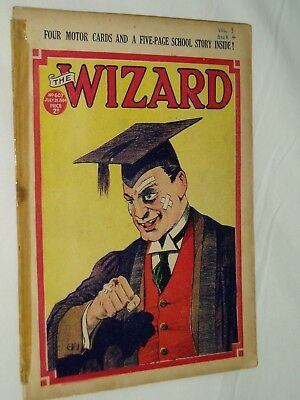 THE WIZARD Comic......D C Thomson....21st  July 1934....free postage