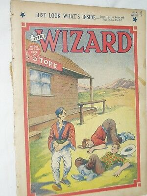 THE WIZARD Comic......D C Thomson....9th June 1934.....free postage