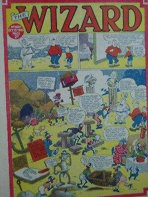 THE WIZARD Comic......D C Thomson....13th October 1945.....free postage