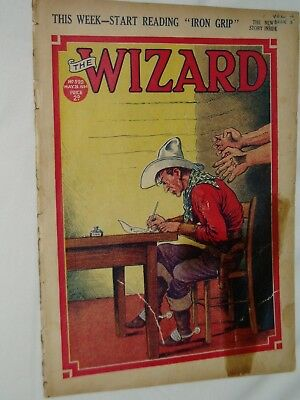 THE WIZARD Comic......D C Thomson....26th May 1934.....free postage