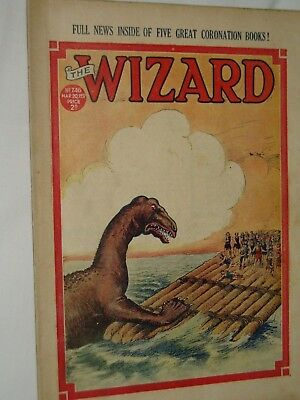 THE WIZARD Comic......D C Thomson....20th March 1937.....free postage