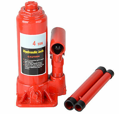 4 Ton Hydraulic Bottle Jack Car Truck Caravan SUV 4WD