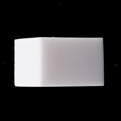 Translucent Square Column Rubber Stamp Carving Blocks for DIY Stamps White
