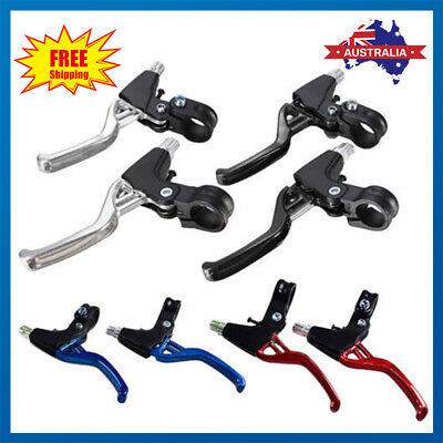 1 Pair Brake Levers V Brakes Cables Caliper Set For BMX Mountain Bike/Bicycle AU