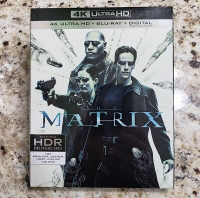 THE MATRIX  (4K Ultra HD Blu-ray Disc, No Digital) Like New