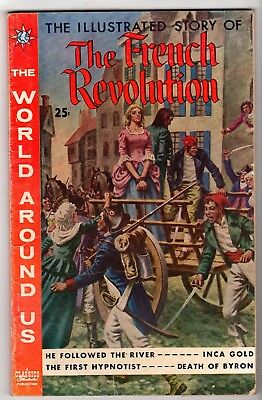 World Around Us #14 featuring The French Revolution, Very Good - Fine Condition