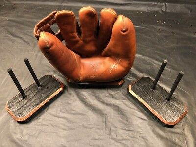 Vintage Baseball Glove Mitt Display