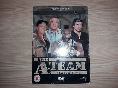 The A Team Complete Fifth Final Season Five 5 Dvd Boxset New Sealed Uk Release