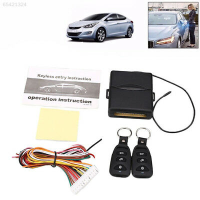 E870 Alarm Systems Car Kit Locking Keyless Entry System With Remote Controllers