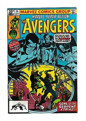 The AVENGERS Sons Of The Serpent Strike No 34 VF