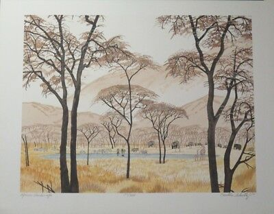Xmas Special! Limited Edition Lithograph Print by the Brilliant Caroline Schultz