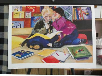 Xmas Special! Limited Edition Lithograph Print by the Great Claudia Jean McCabe!