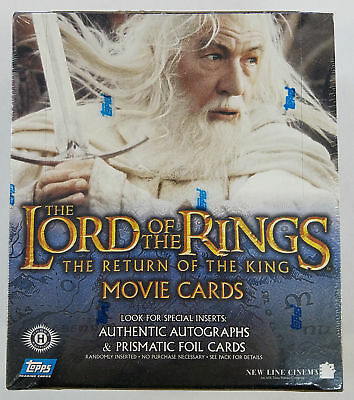 Topps LOTR Lord Of The Rings Return Of The King Hobby Box (A)