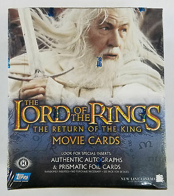 Topps LOTR Lord Of The Rings Return Of The King Hobby Box (D)