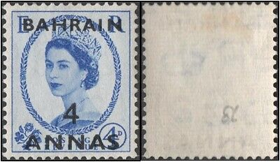 Bahrain. 1952.Great Britain Postage Stamps Overprinted. 4a. SG 86. MLH