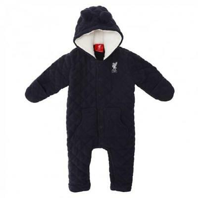 Liverpool F.C. Quilted Snowsuit in 0/3-3/6-6/9-9/12-12/18 Mths