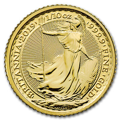 2019 Great Britain 1/10 oz Gold Britannia BU - SKU#177489