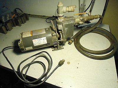 Dayton Jet Pump Motor 9K679B with TEEL 2P390A pump