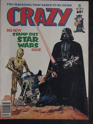 Crazy Magazine 1977 Star Wars Darth Vader #32