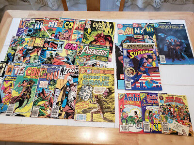 DC/ MARVEL Comic Book Lot- Good Condition