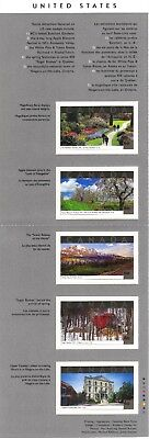 Canada Stamps - Tourist Attractions 60c (Set of 5 Self-Adhesive Stamps)