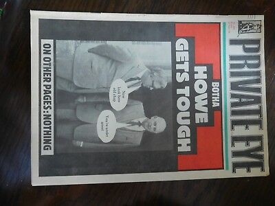 Vintage copy of Private Eye magazine issue no 640 June 86 Good Condition