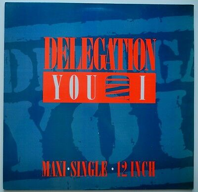 """12"""" Be**delegation - You And I (Remix '87) (Ariola)**26236"""