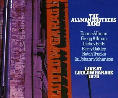 Allman Brothers Band - Live At Ludlow Garage-1970 [CD New]