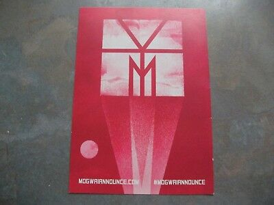 Mogwai Double Sided Promo Postcard