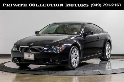 2006 BMW 6-Series  2006 BMW 650Ci 650Ci 6 Series 2 Owner Clean Carfax Low Miles Well Kept