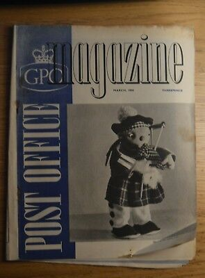 GPO Post Office Magazine March 1955. Guildford. Telegrams