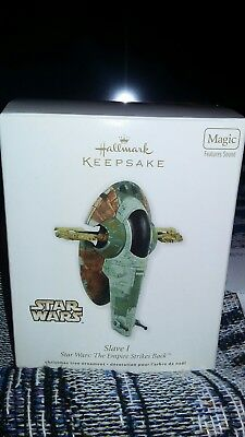 2011 Hallmark Keepsake Ornament Slave 1 Star Wars - Empire Strikes Back