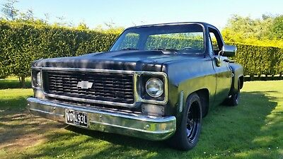Chevy C10 Stepside 1973 Pickup Lowered/race Truck