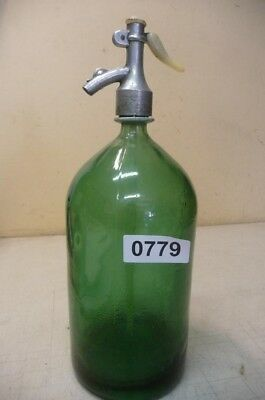 0779. Alte Sodaflasche  Siphonflasche 2 l Old soda siphon seltzer