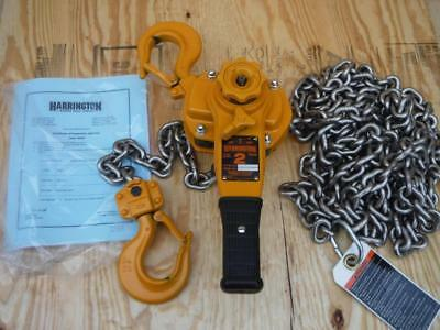 New Harrington LB020-20 4000 lb 20 Foot Hoist Lift Lever FAST SHIPPING 2 Ton