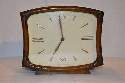 Smiths Chime Mantle Clock Wind Up From Mid 20Th Century 2 Jewels Unadjusted