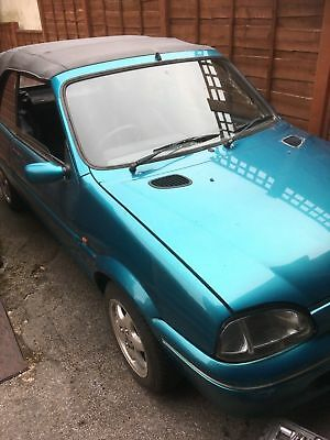 Rover Metro 114 Cabriolet Restoration Project Or Spares
