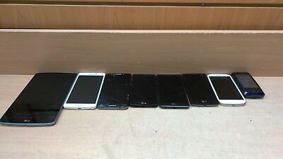 Lot of 8 FOR PARTS Android Phones/Tablet
