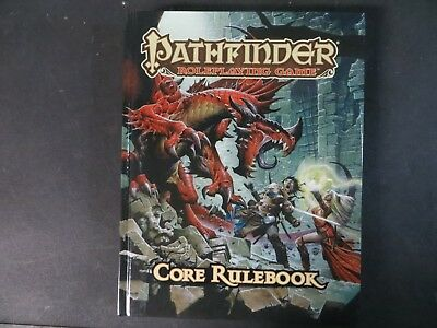 Pathfinder RPG Core Rulebook (2009, Full Size Hardcover Book) Used Clean