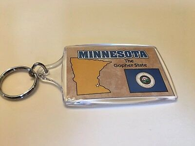 Minnesota Key Chain