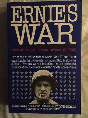 World War 2 Ernie Pyle Books Here Is Your War Signed Brave Men W