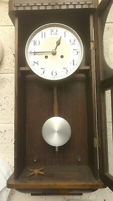 Vintage German Westminster Chiming Wall Clock Working - but not for long