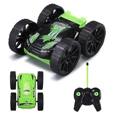 Remote Control Car RC Stunt Vehicle 360°Rotating Rolling Double-sided for Boy